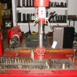 IDL 550 Small Head 2 speed Valve Guide & Seat Machine